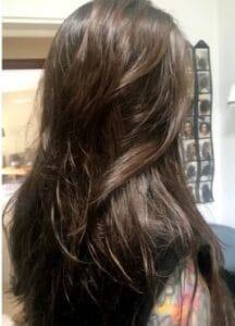 הורדת נפח ושיקום שיער -לאחר הטיפול- ג'ולי מורד