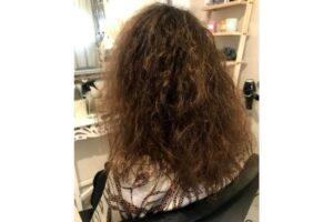 הורדת נפח ושיקום שיער - לפני הטיפול-ג'ולי מורד